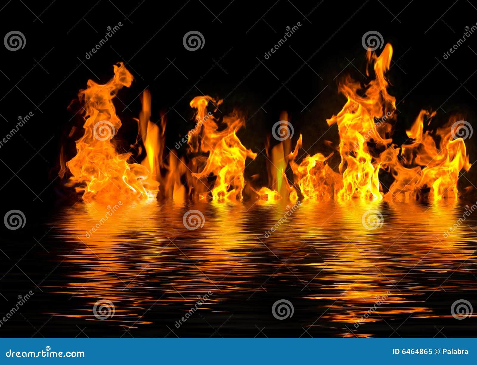 Płonąca woda