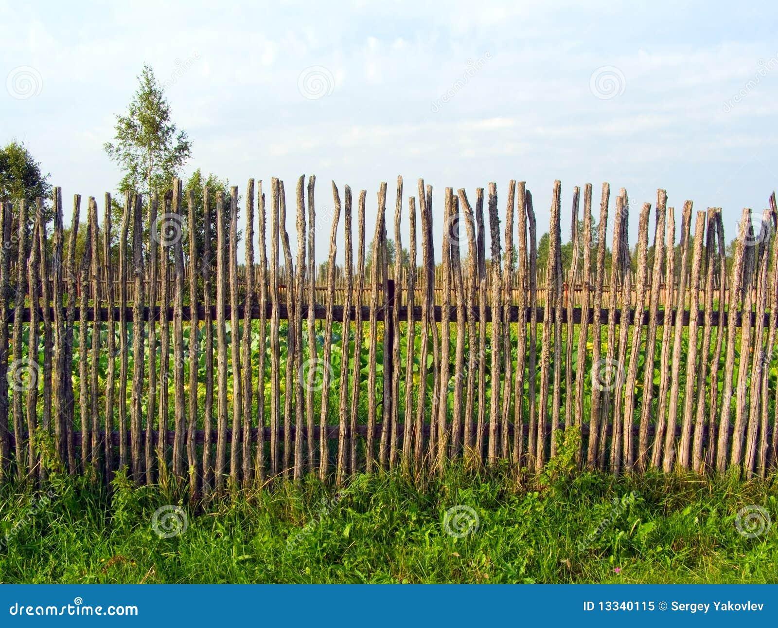 Płotowy stary drewniany