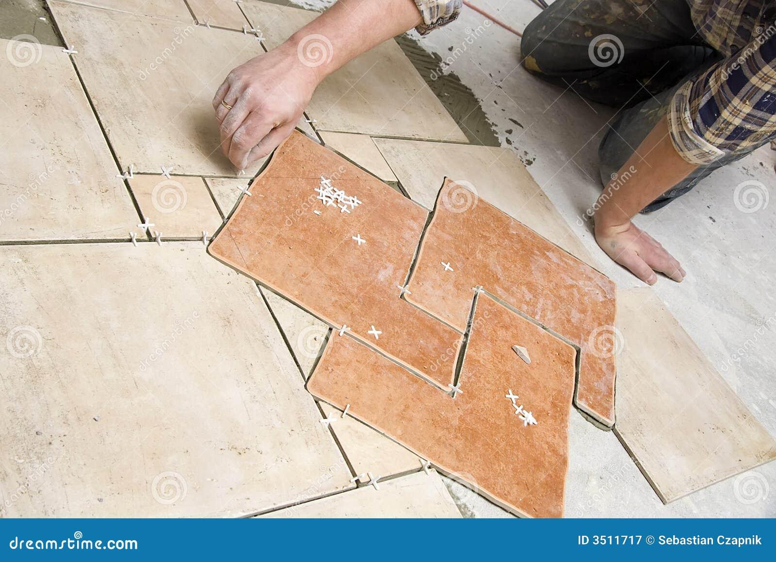 Płytki podłogowe instalacji