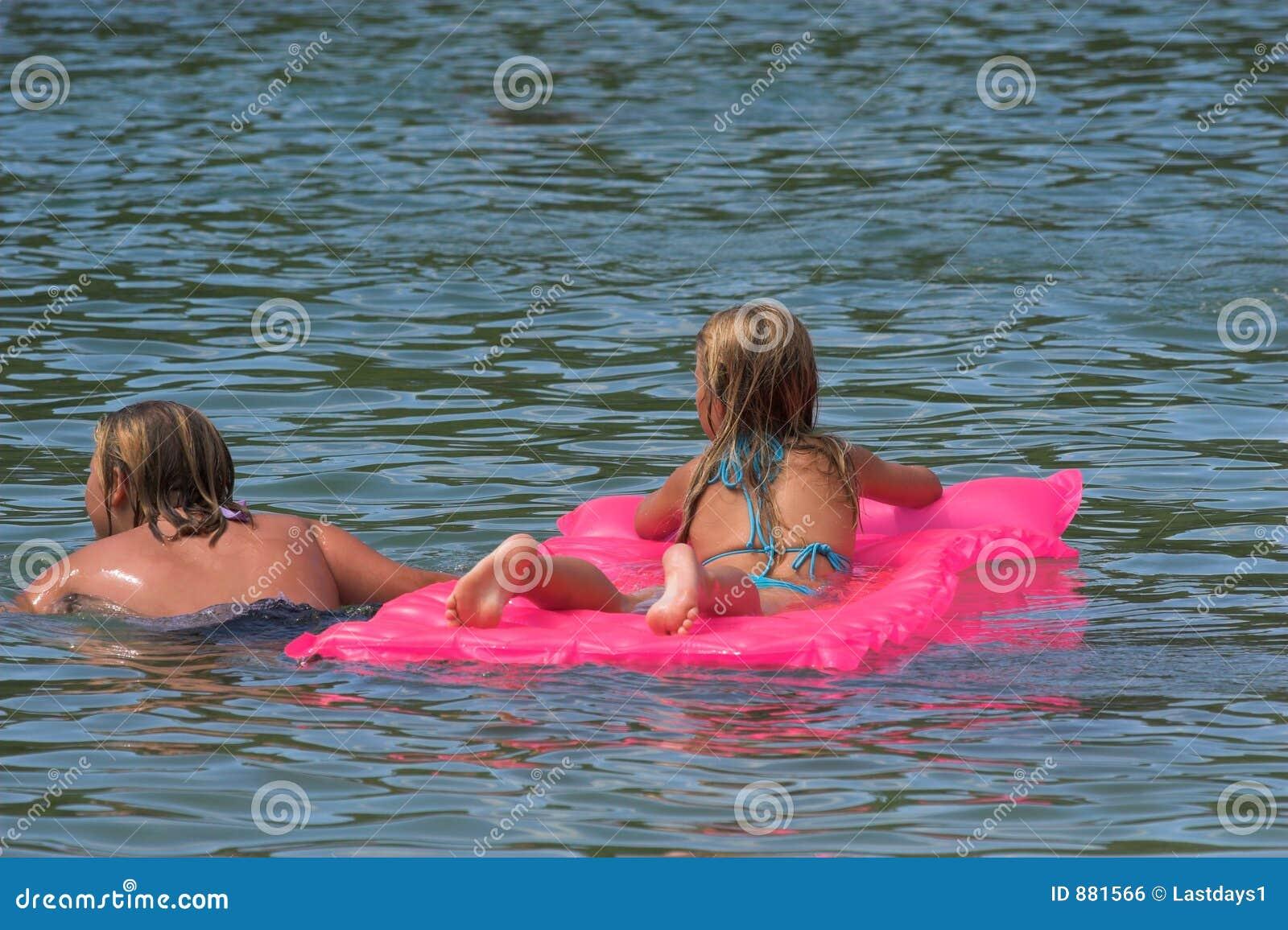 Pływać przyjaciół