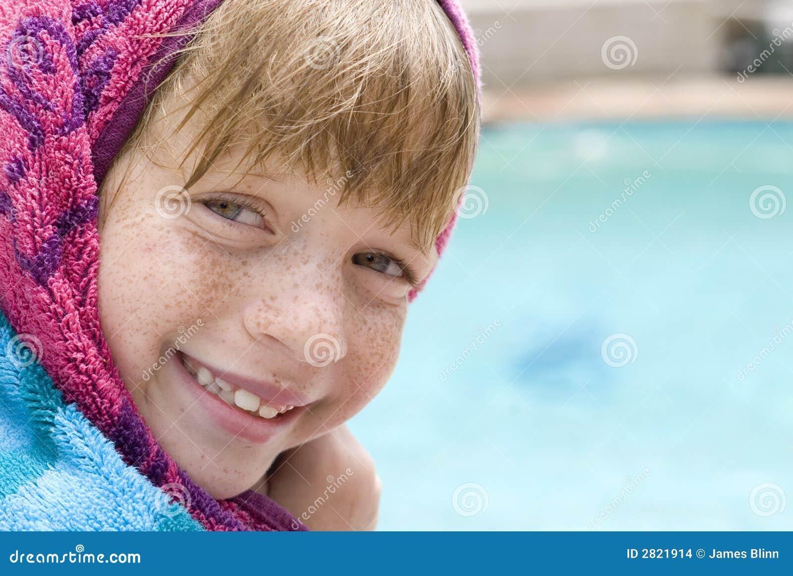 Pływanie basen dziecka