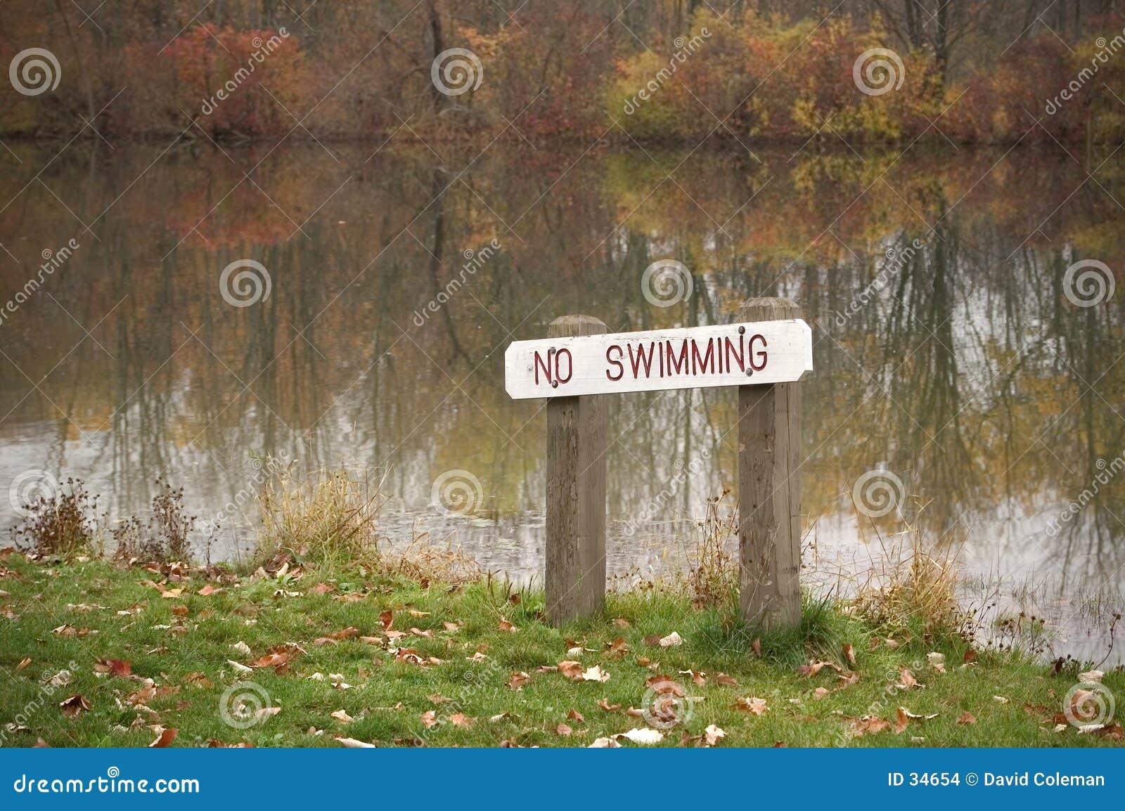 Pływanie nie