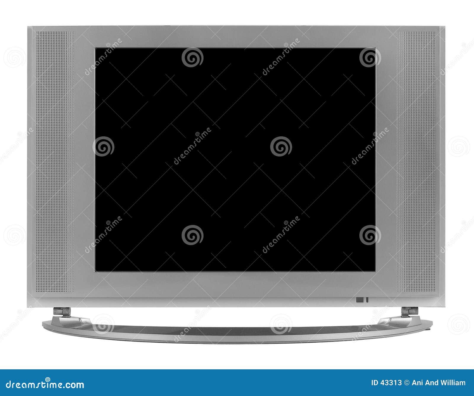 Płaski lcd definicji wysoki telewizor