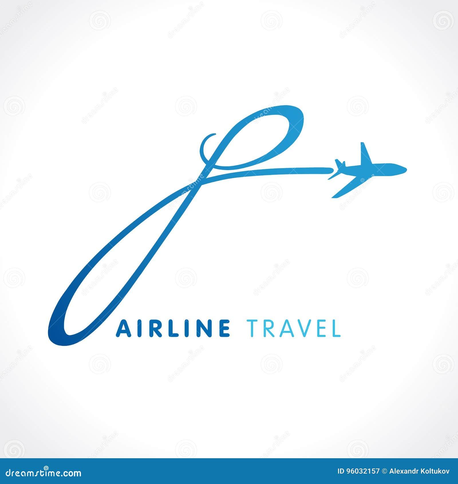 P listu podróży firmy logo
