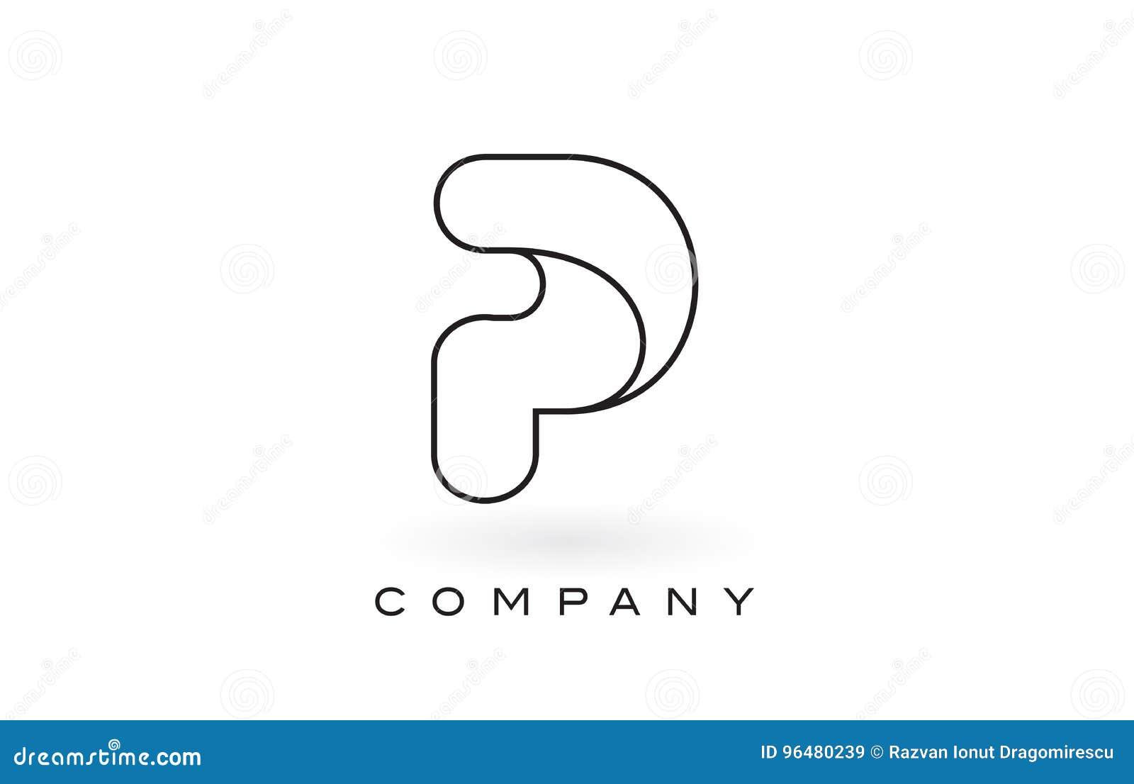 Letter P Outline Peopledavidjoel