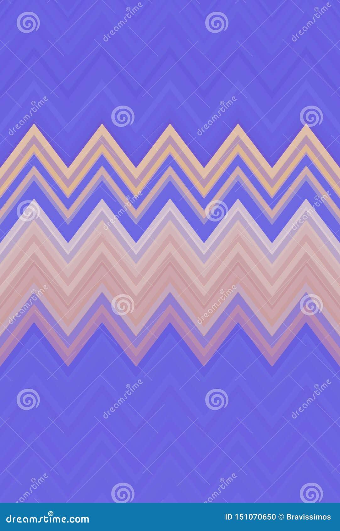 P?rpura del fondo del modelo de zigzag de Chevron tendencias abstractas