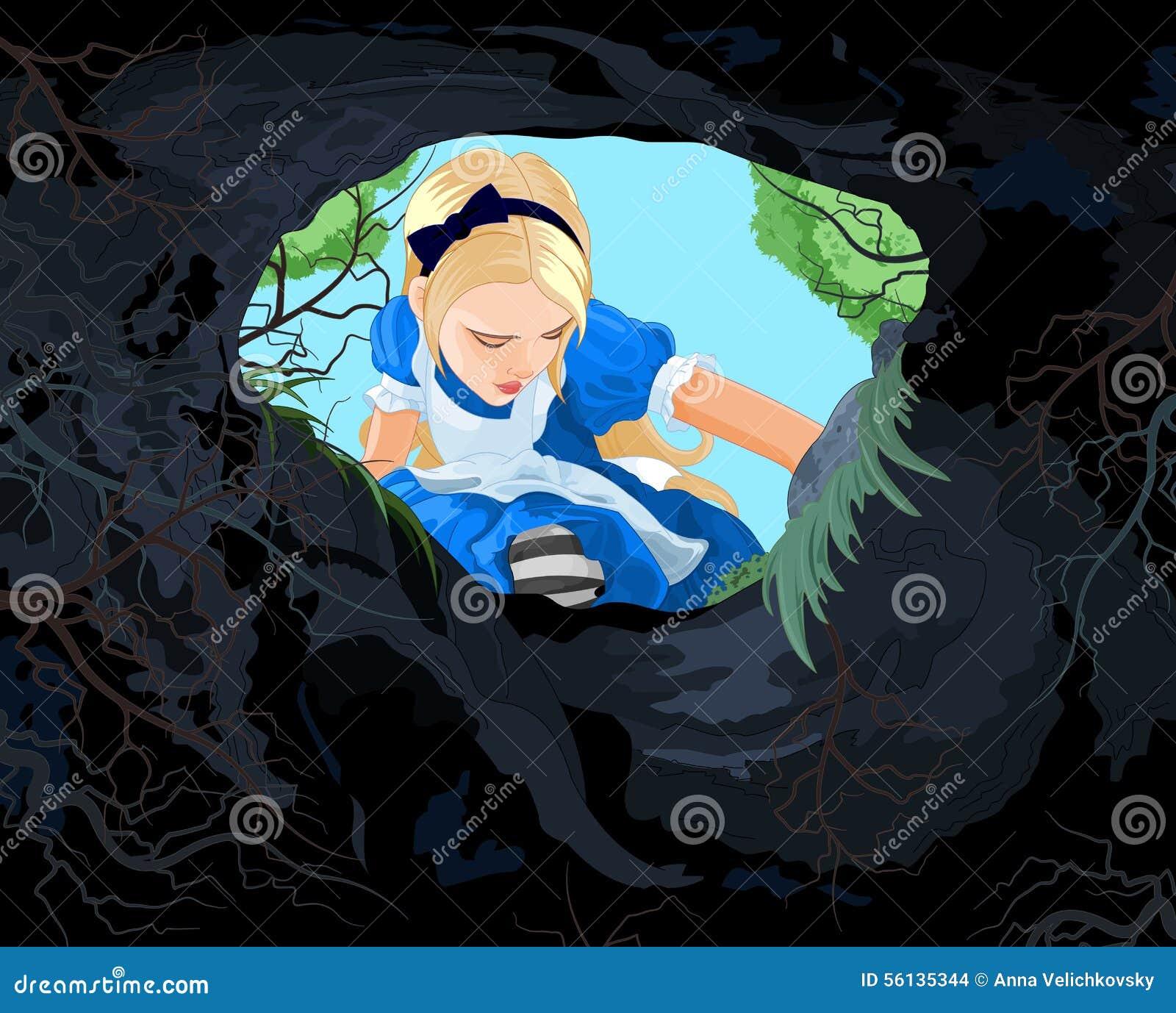 País das maravilhas Alice