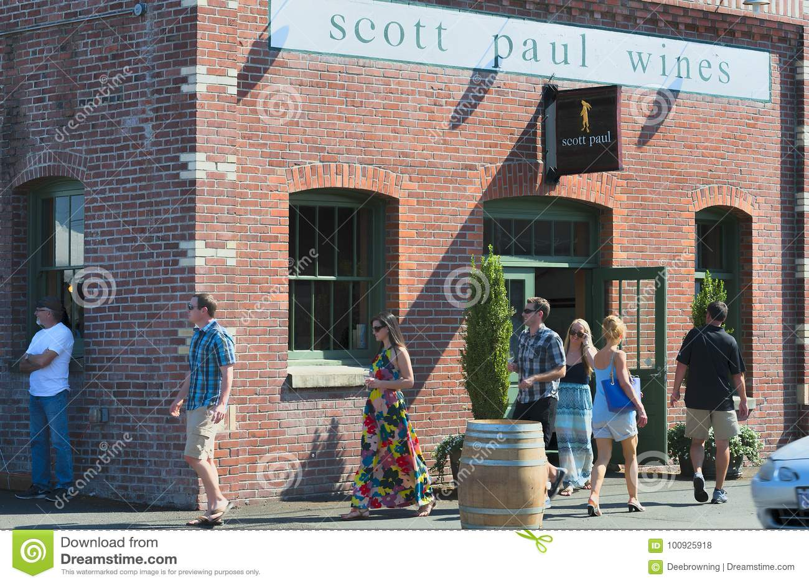 País vinícola de Carlton City In Yamhill County