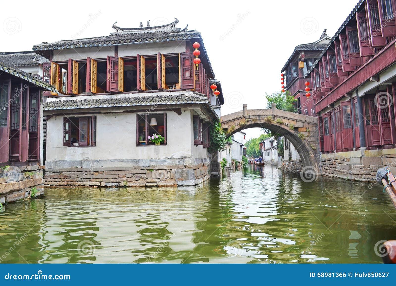 País Zhouzhuang de China Southern Water