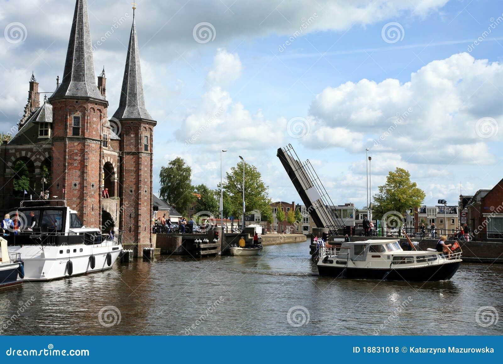 Países Bajos del â de Sneek. Provincia de Frisia