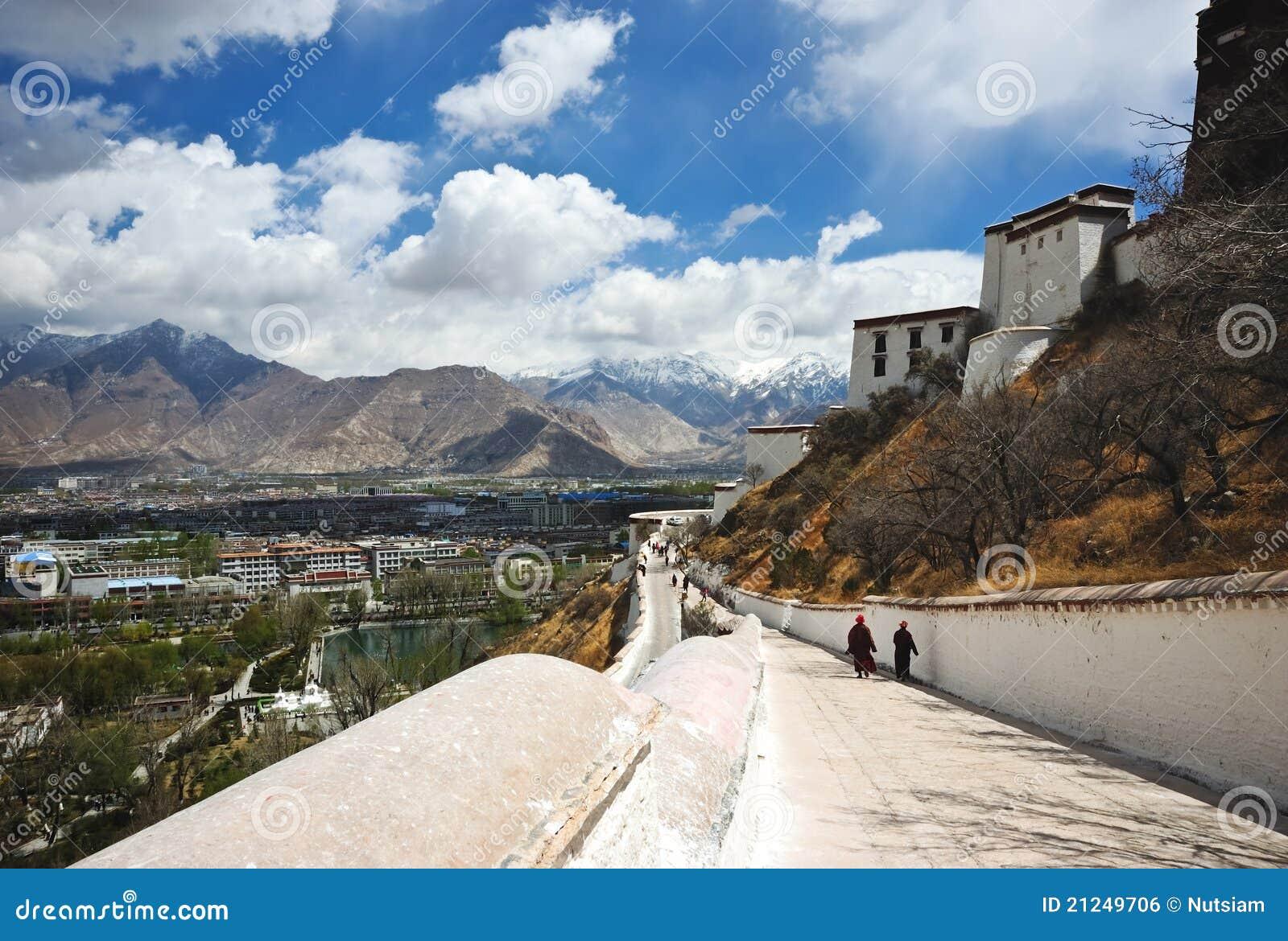 Pałac potala Tibet
