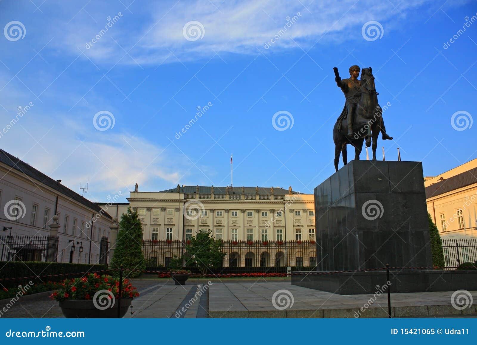 Pałac prezydencki Warsaw