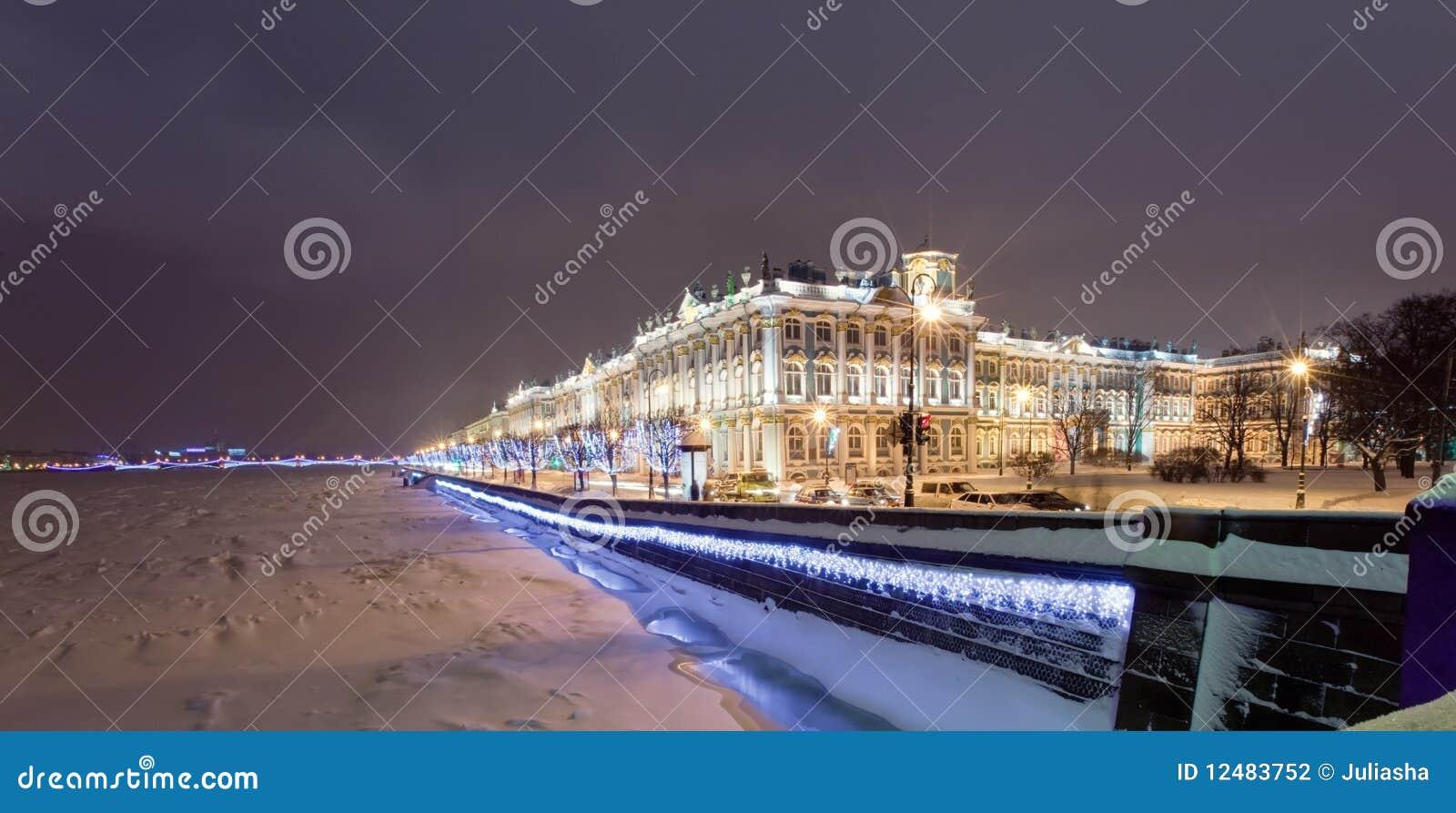 Pałac rastrelli zima