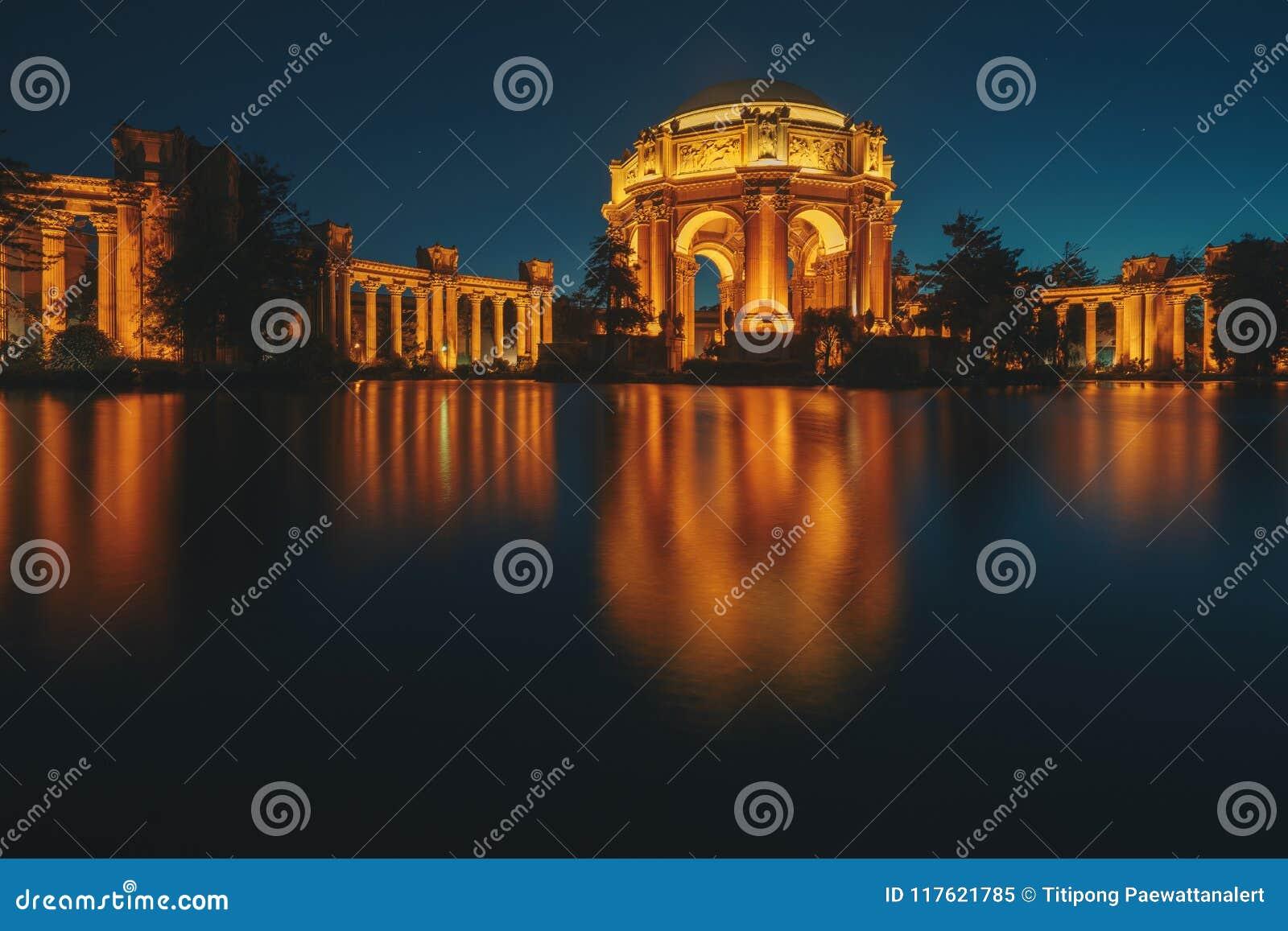 Pałac sztuki piękna w Marina okręgu San Fransisco,