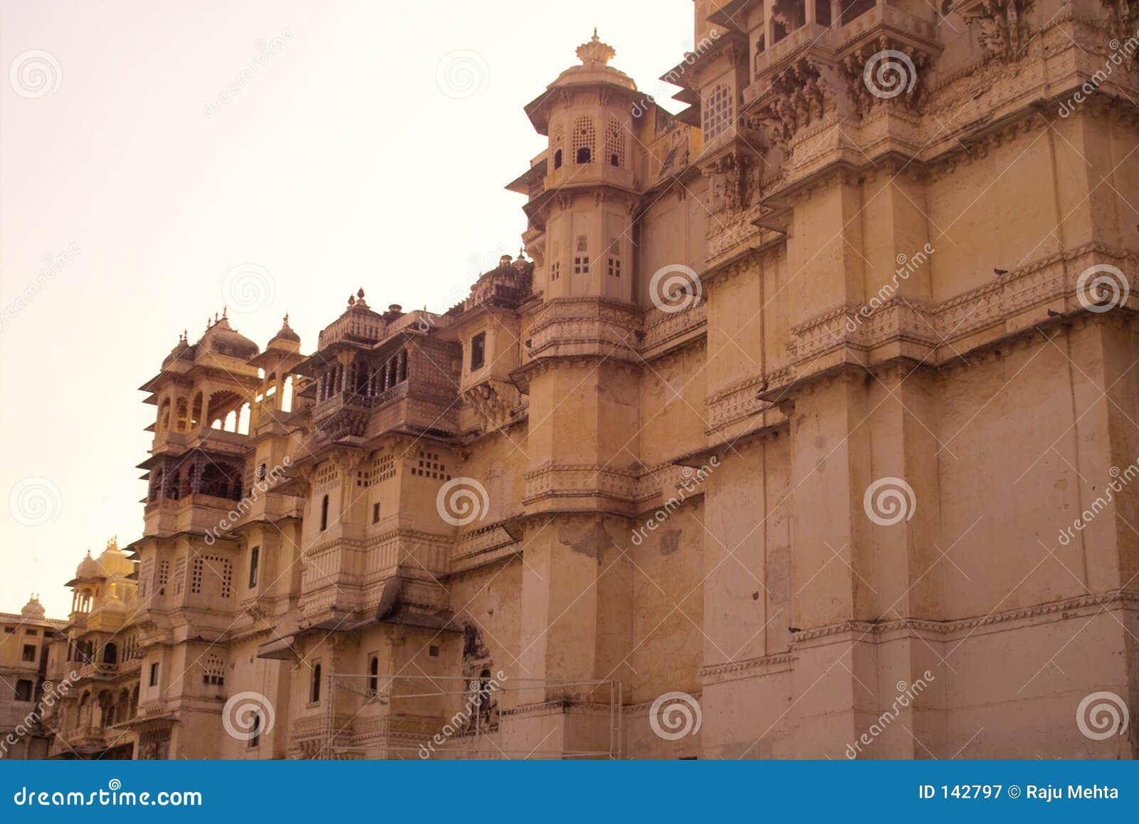 Pałac udaipur miasta