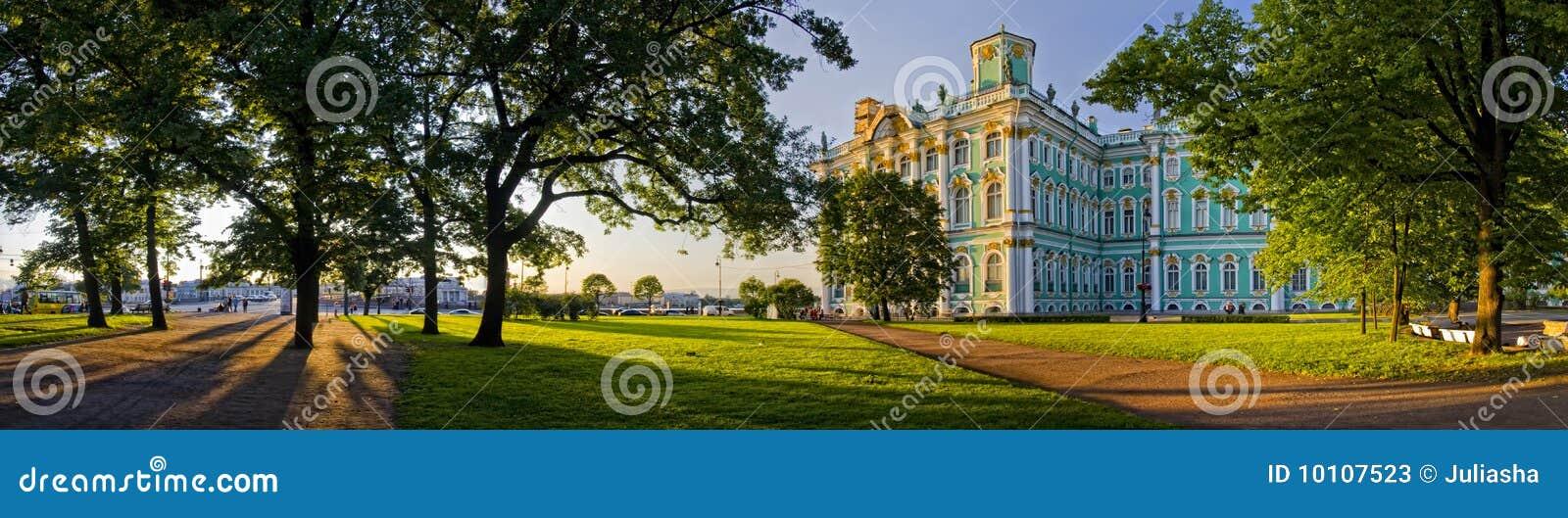 Pałac zima