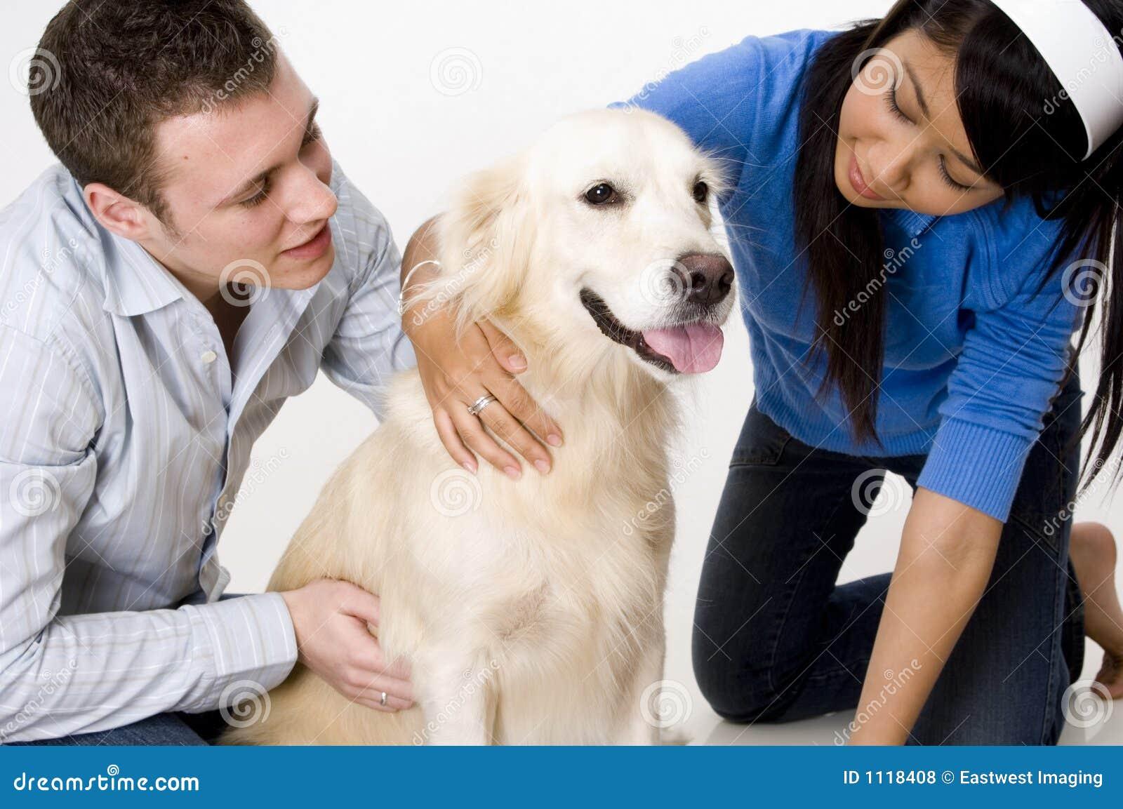 Paar met Hond