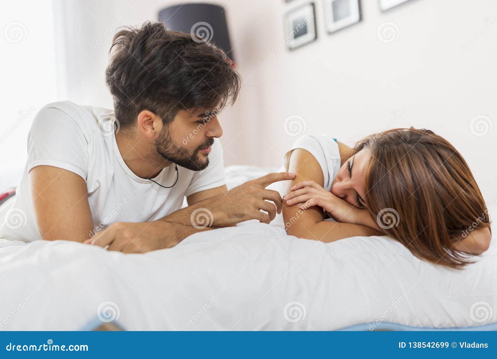 Paar na een strijd