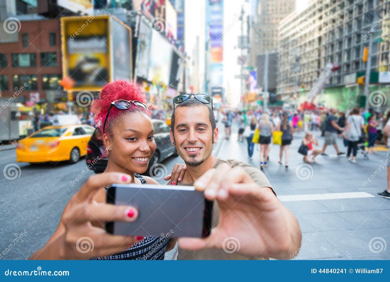 Paar in New York