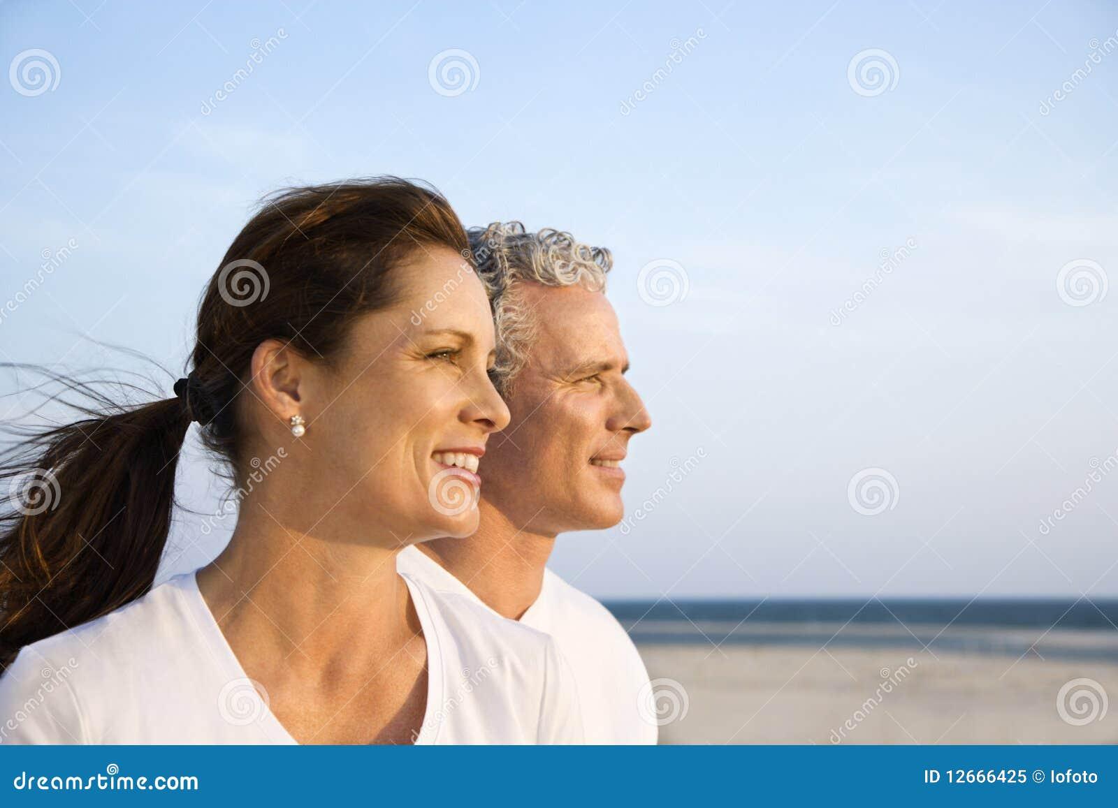 Paar op Strand