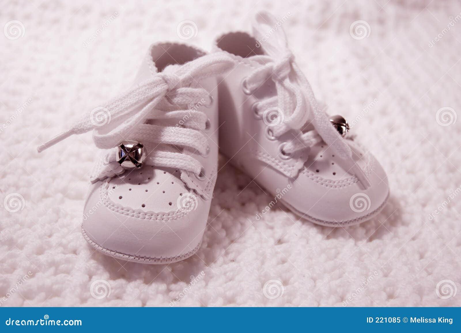 Paar Schoenen van de Baby in roze