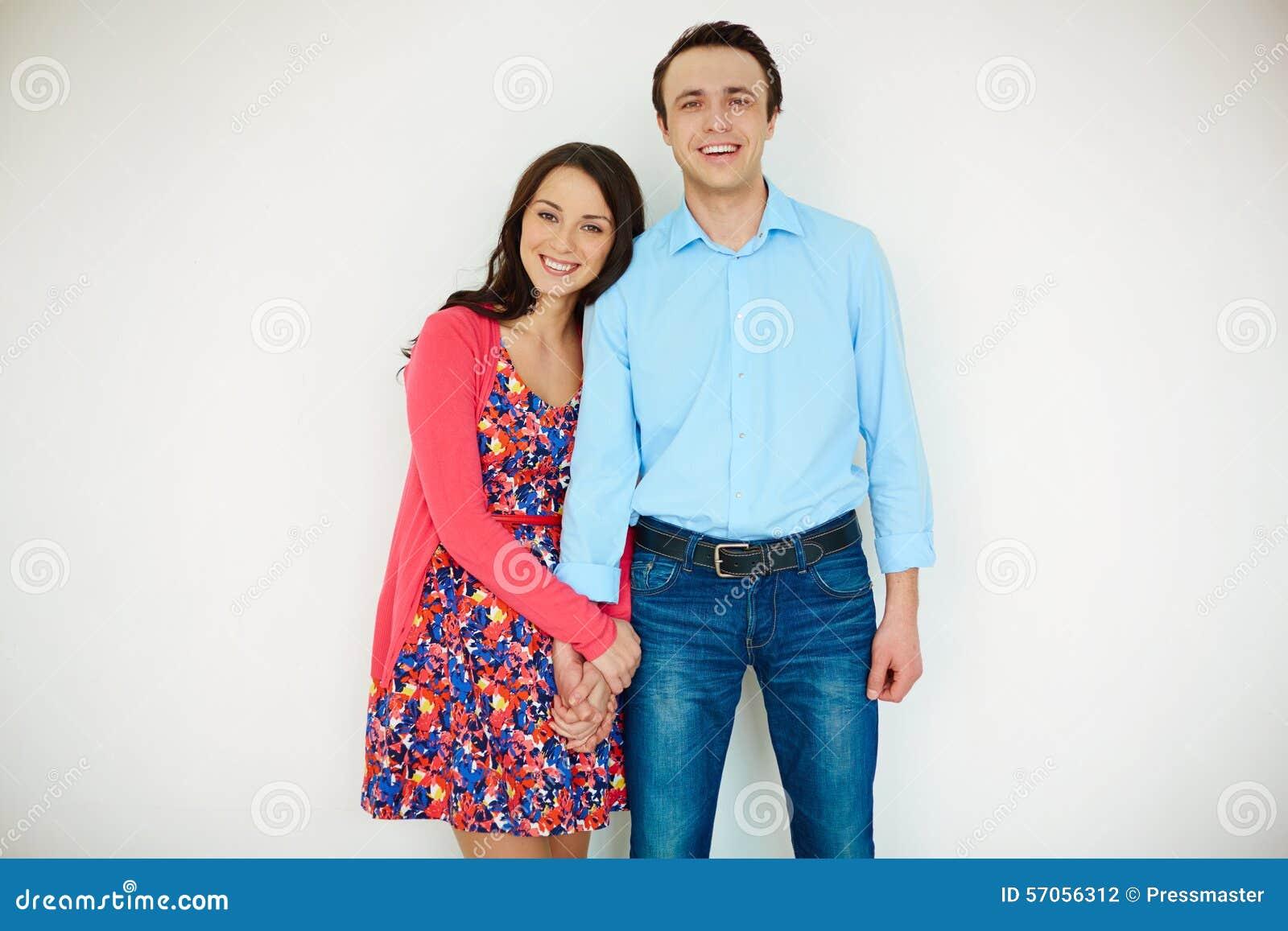 Paar in toevallig