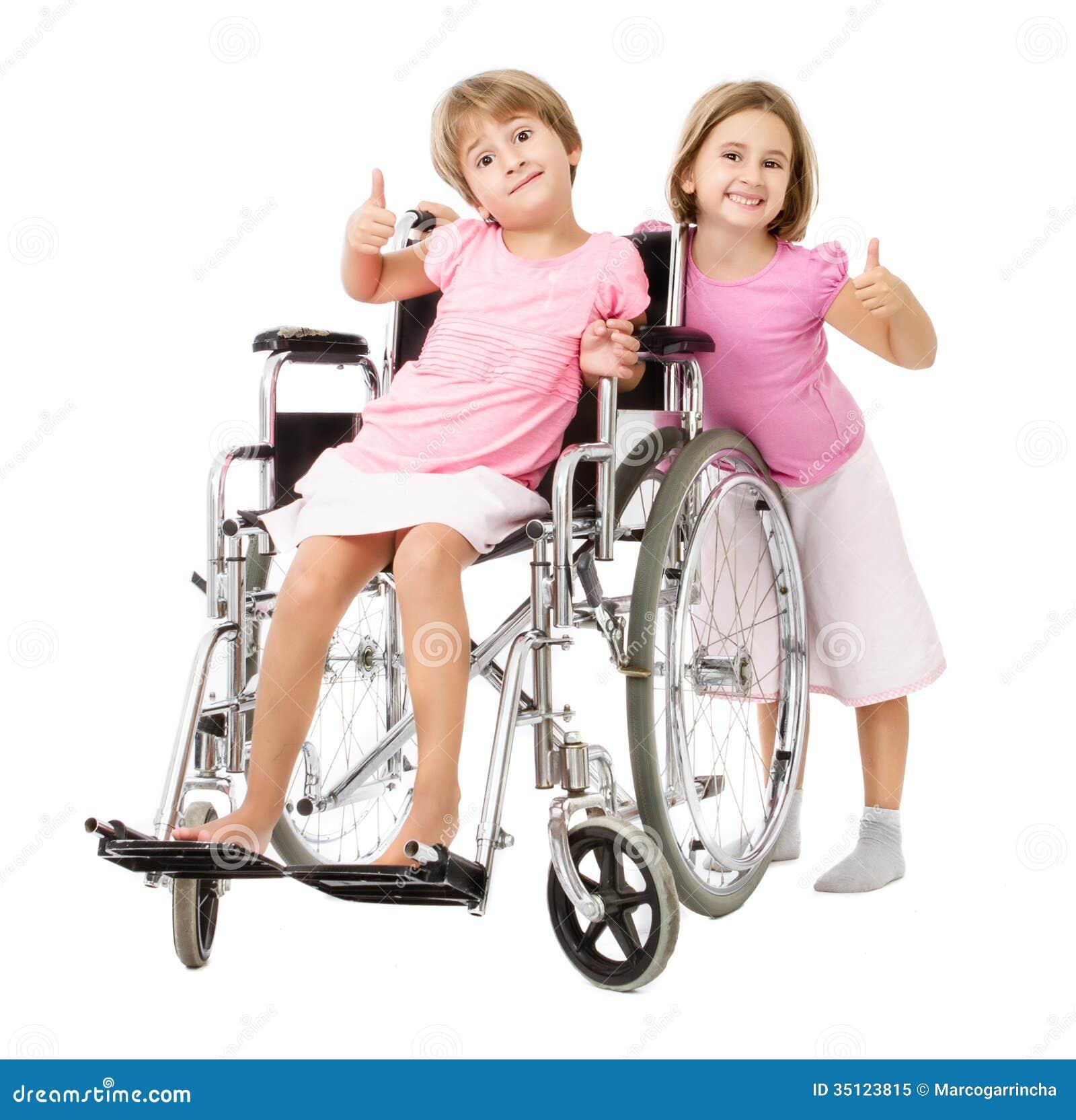 Paar van de problemen van de kinderenhandicap het oplossen