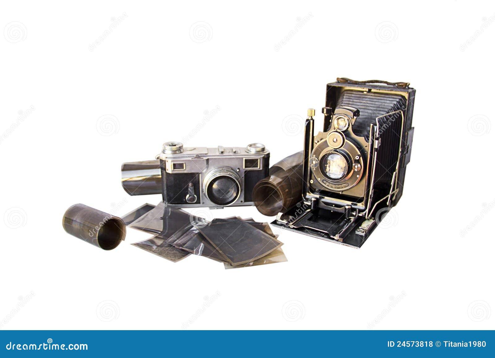 Paar van oude camera s