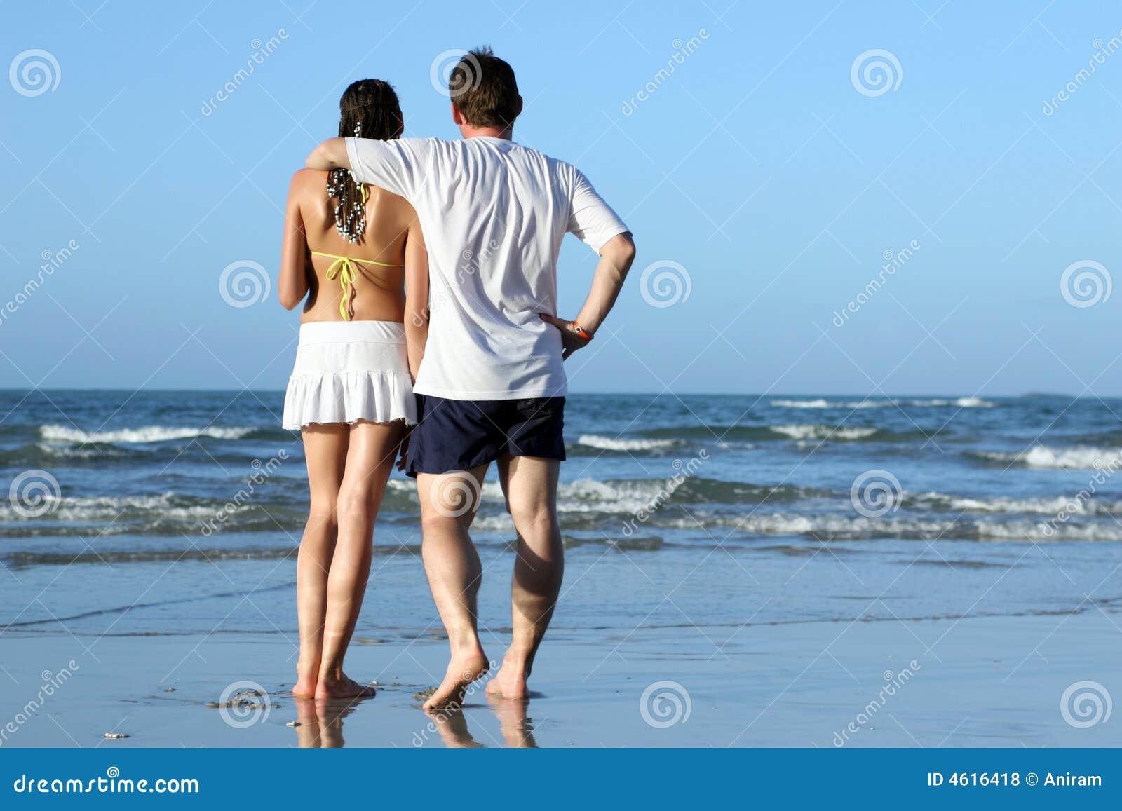 Strand flirten