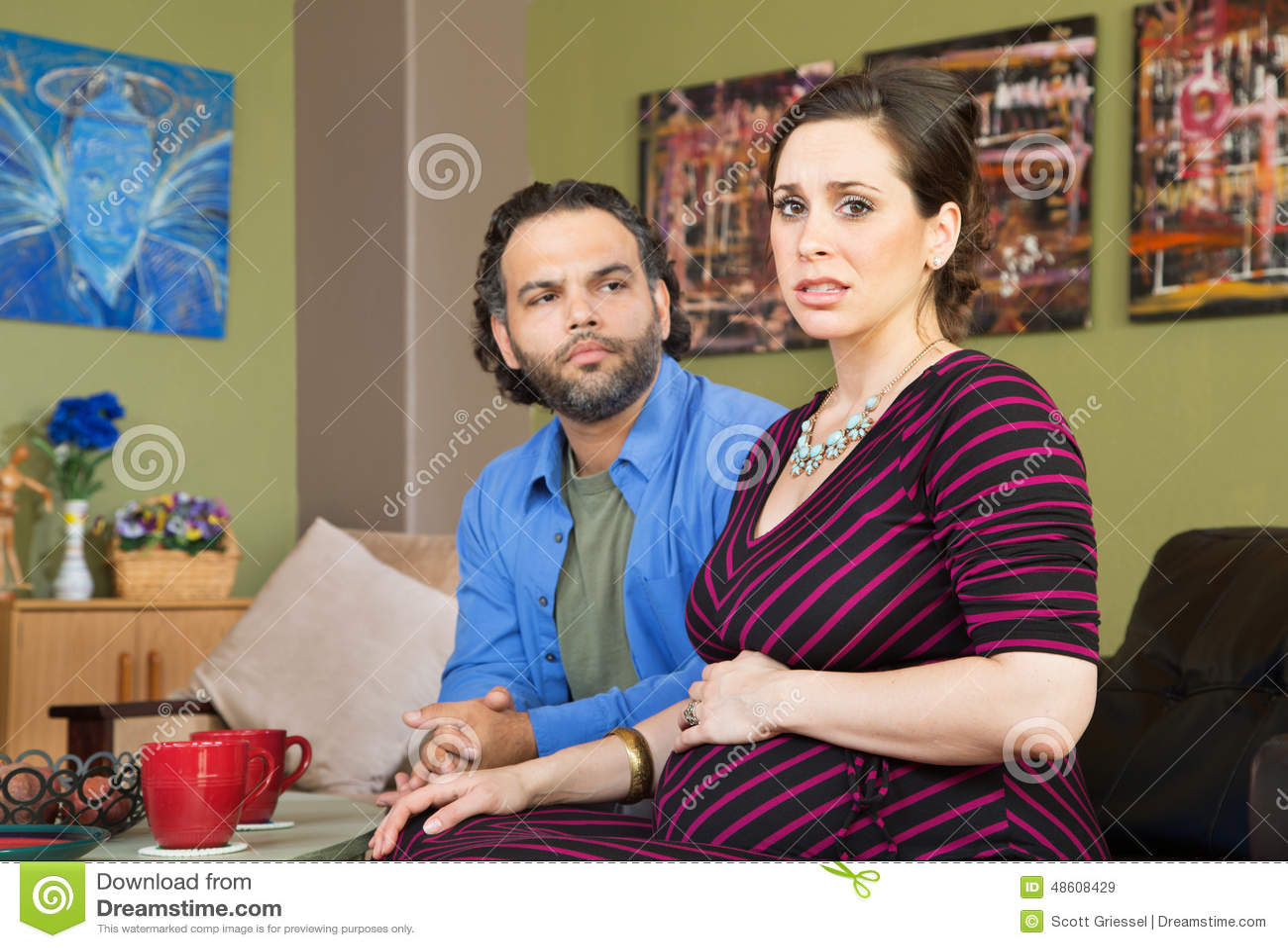 Paare besorgt um Schwangerschaft