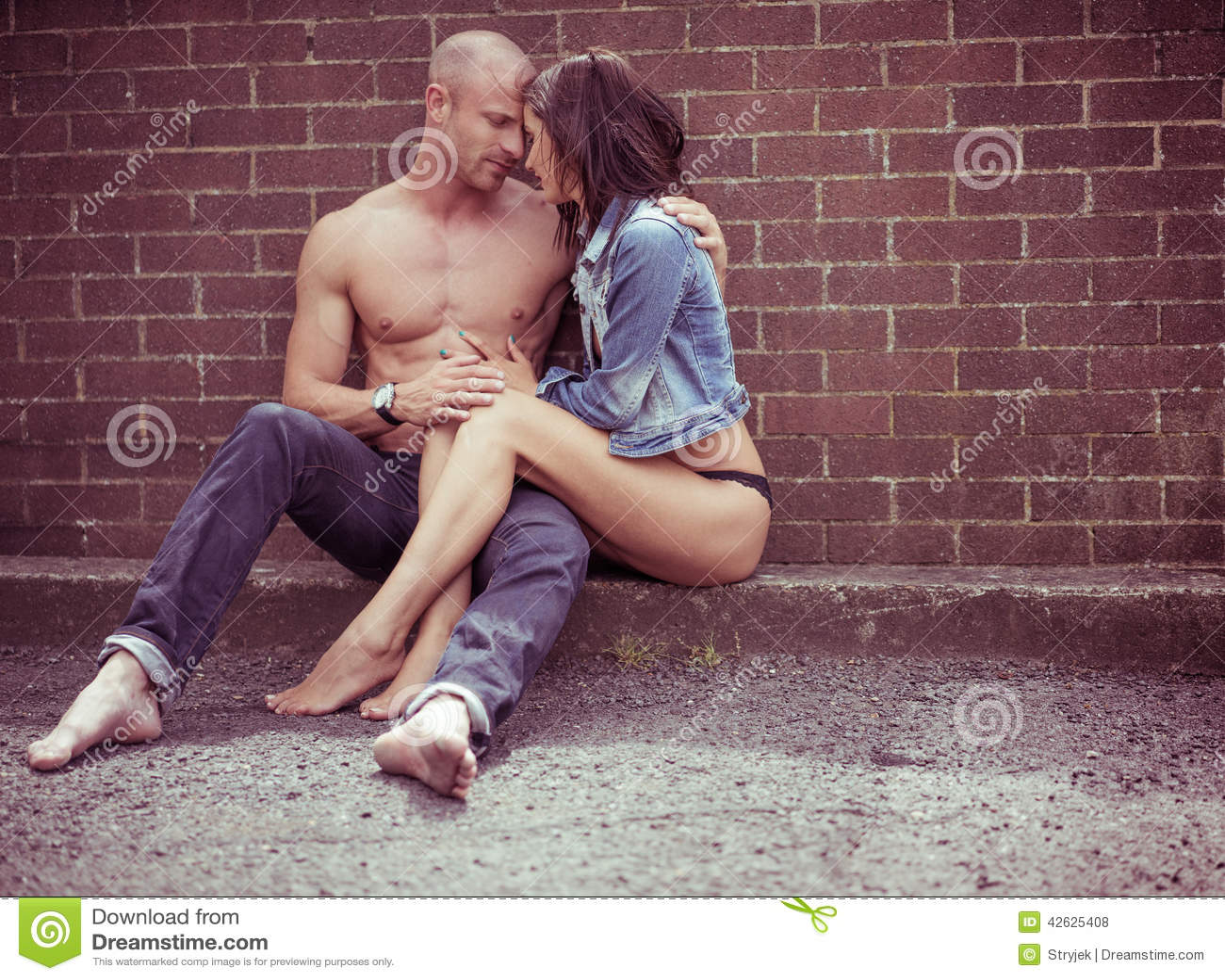 Paare in der Liebe romantisch
