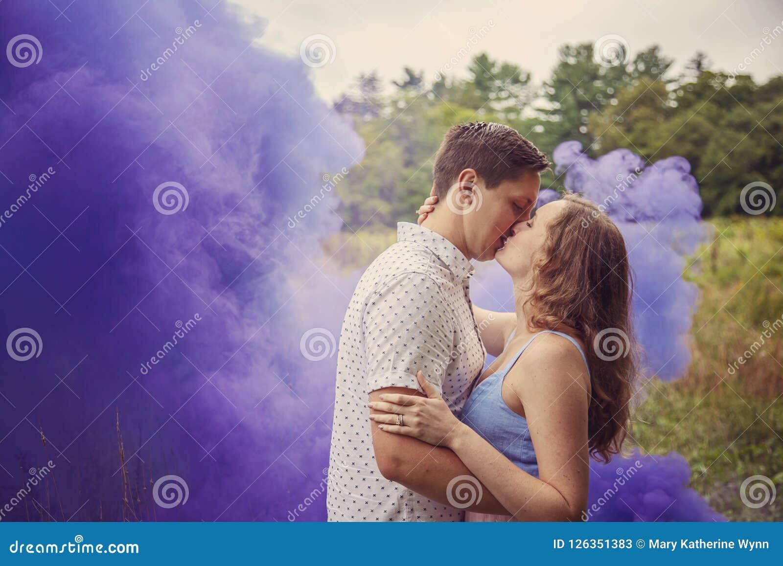 Küssen raucherin Nur einmal