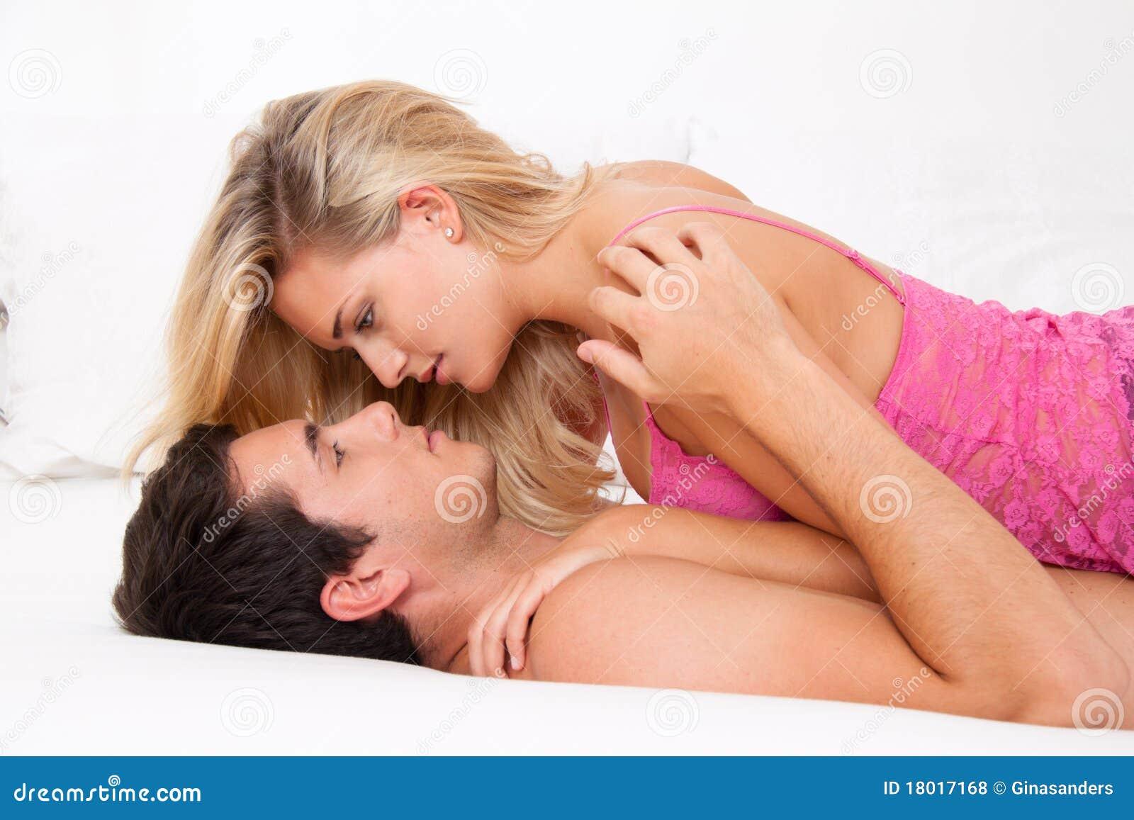 Paare im Bett Sex