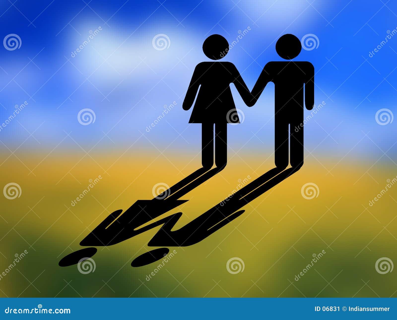 Paare, Zeichenbetriebsart