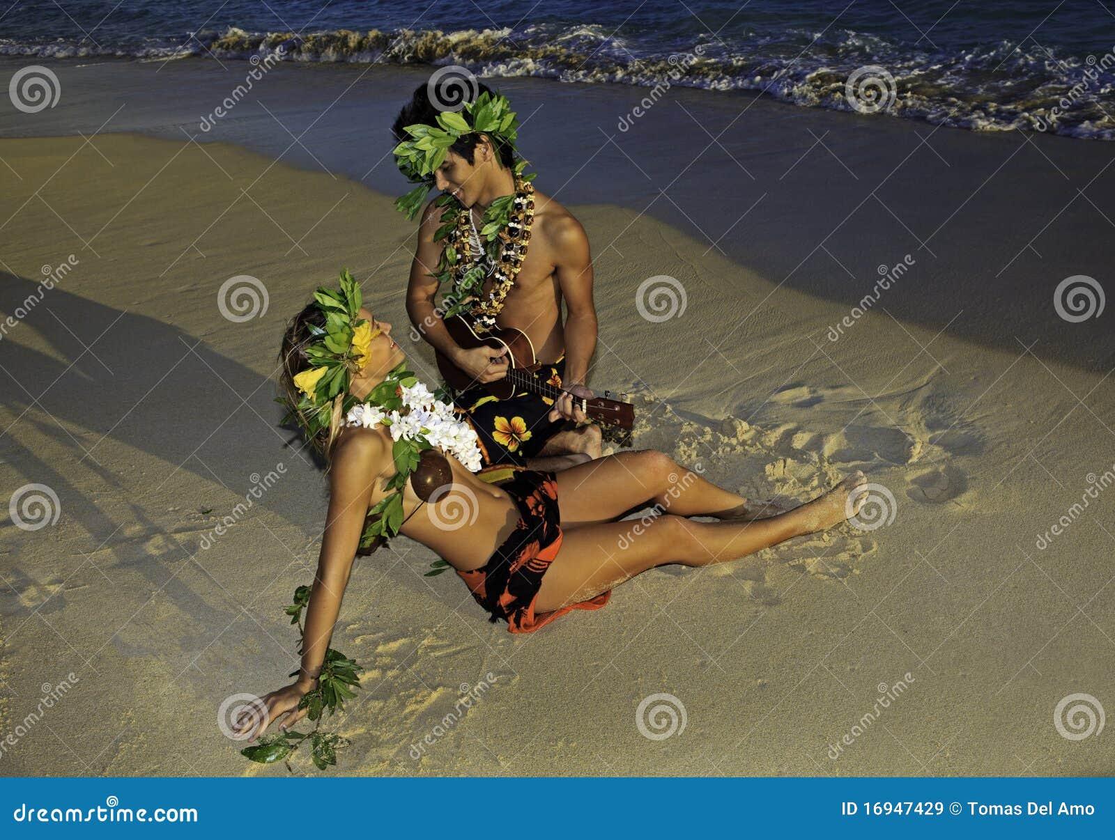 Paartanzen hula
