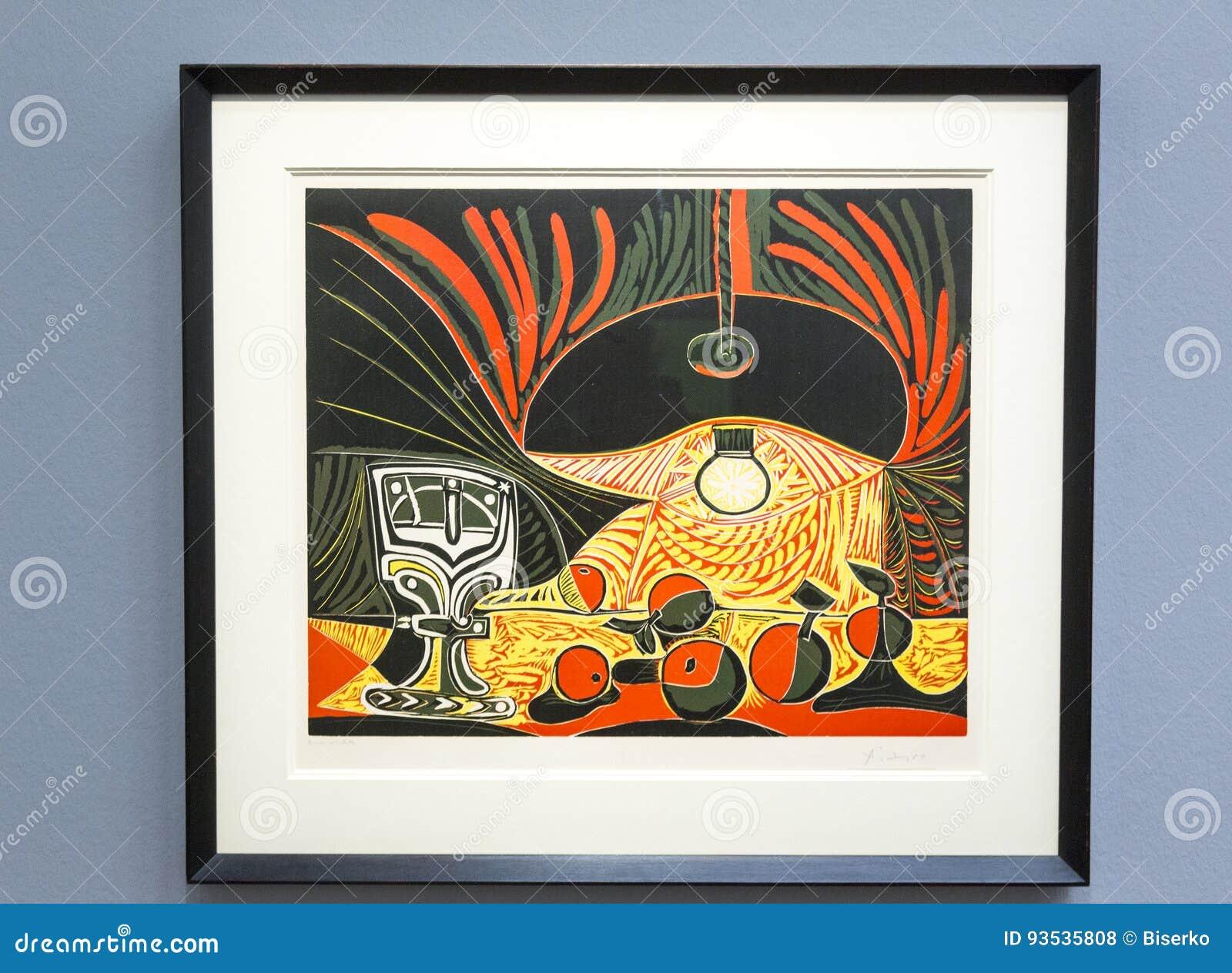 Pablo Picasso - At Albertina Museum In Vienna Editorial Stock Photo ... e4166a447e70