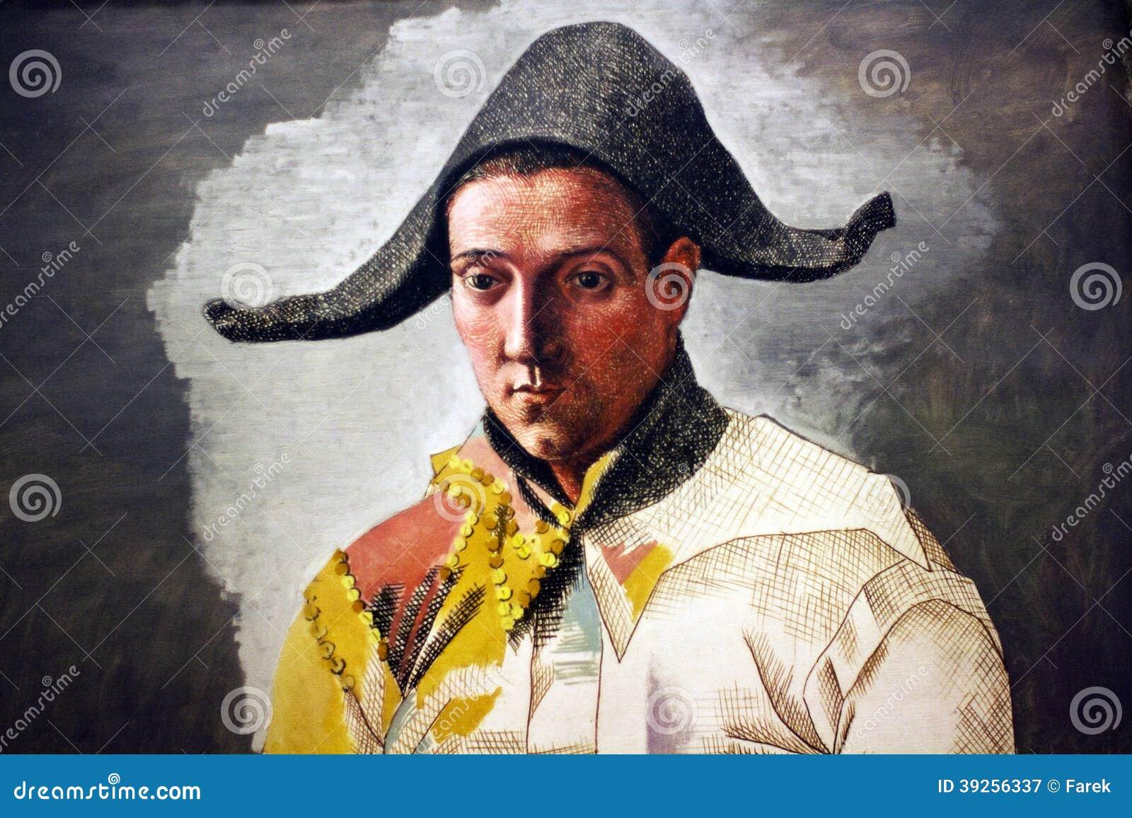 Pablo Picasso L arlequin Assis - detalhe