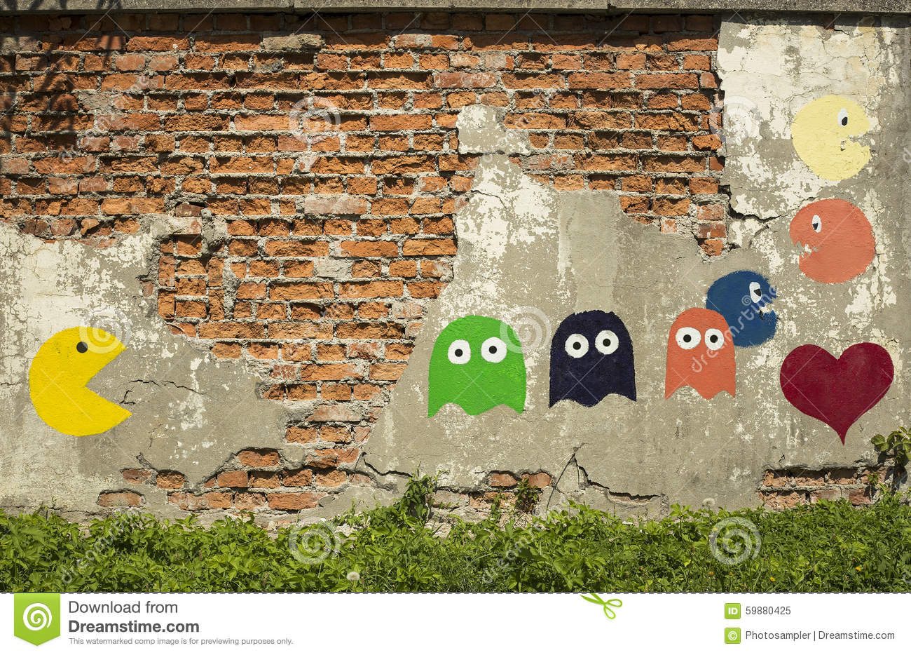 Image Result For Pac Man Multi Colored Ghost L