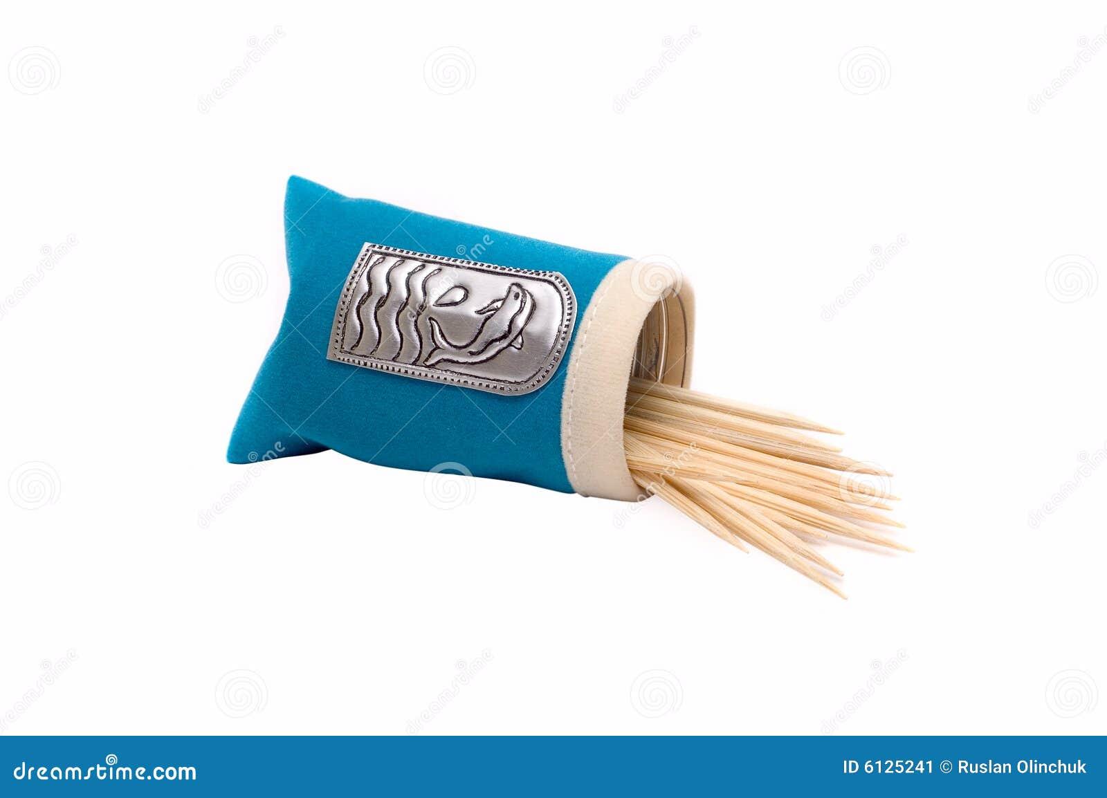 Pacchetto con i toothpicks