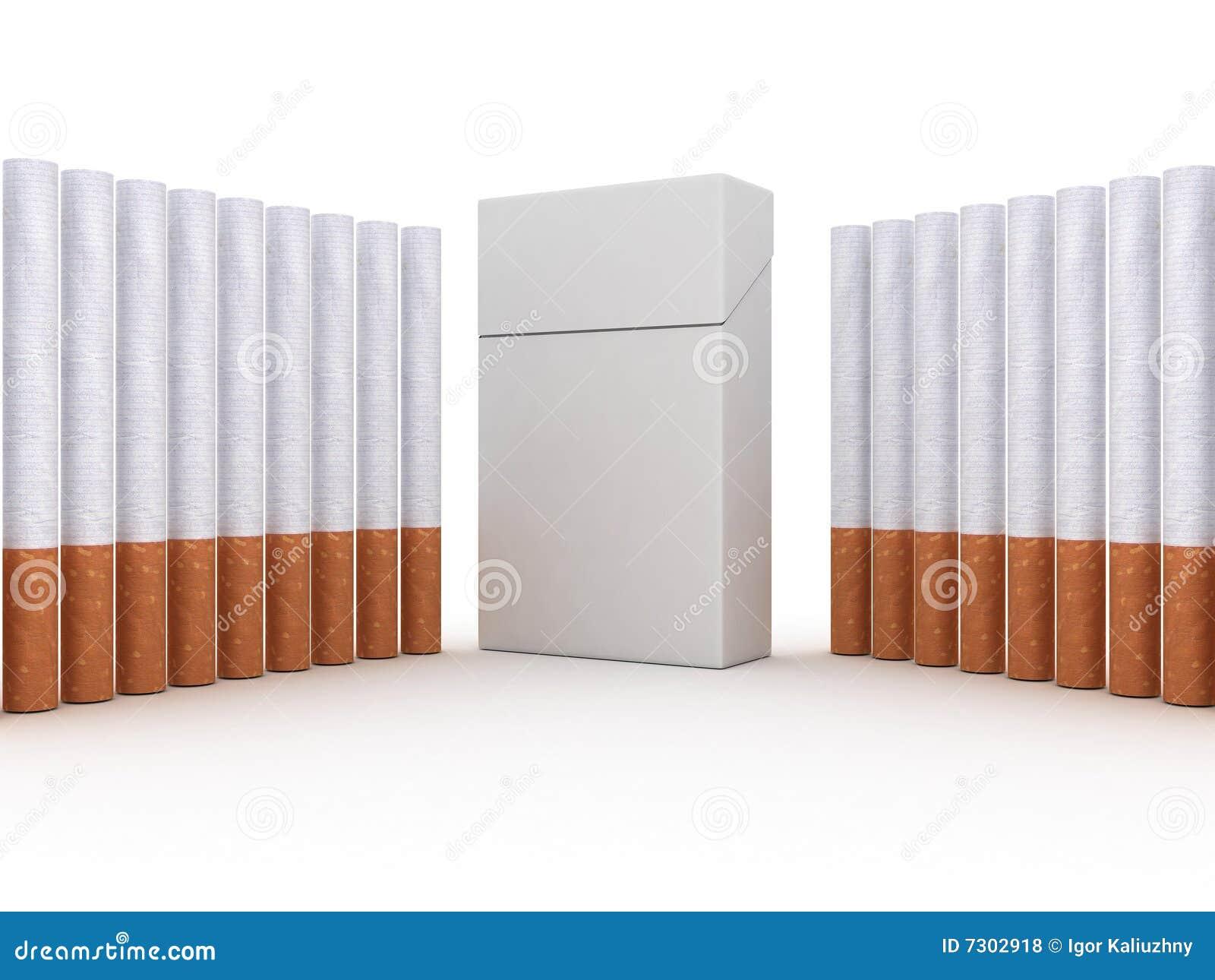 Pacchetto delle sigarette