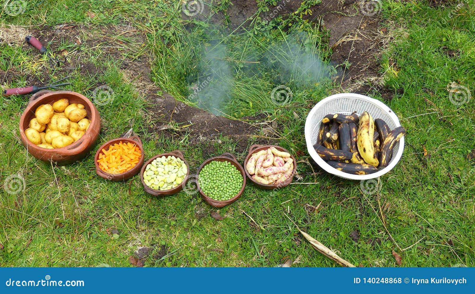 Pachamanca родовой ритуал коренного народа Анд