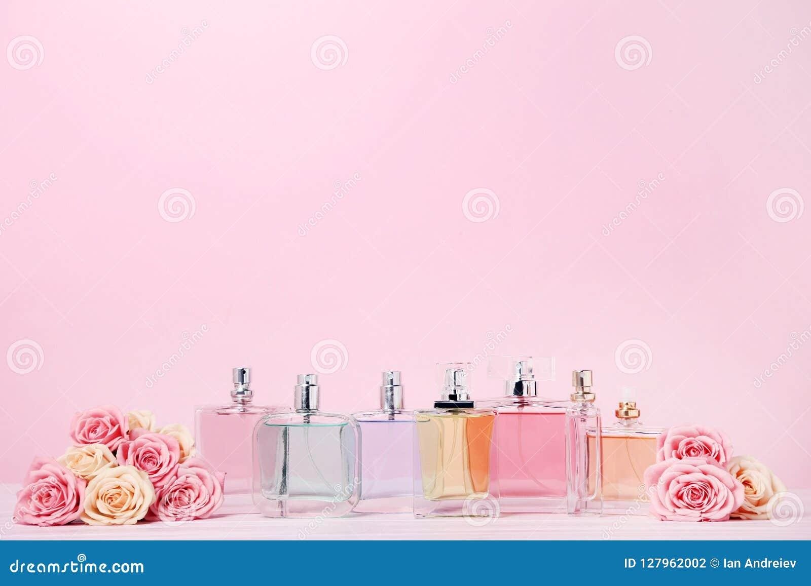 Pachnidło butelki z różami