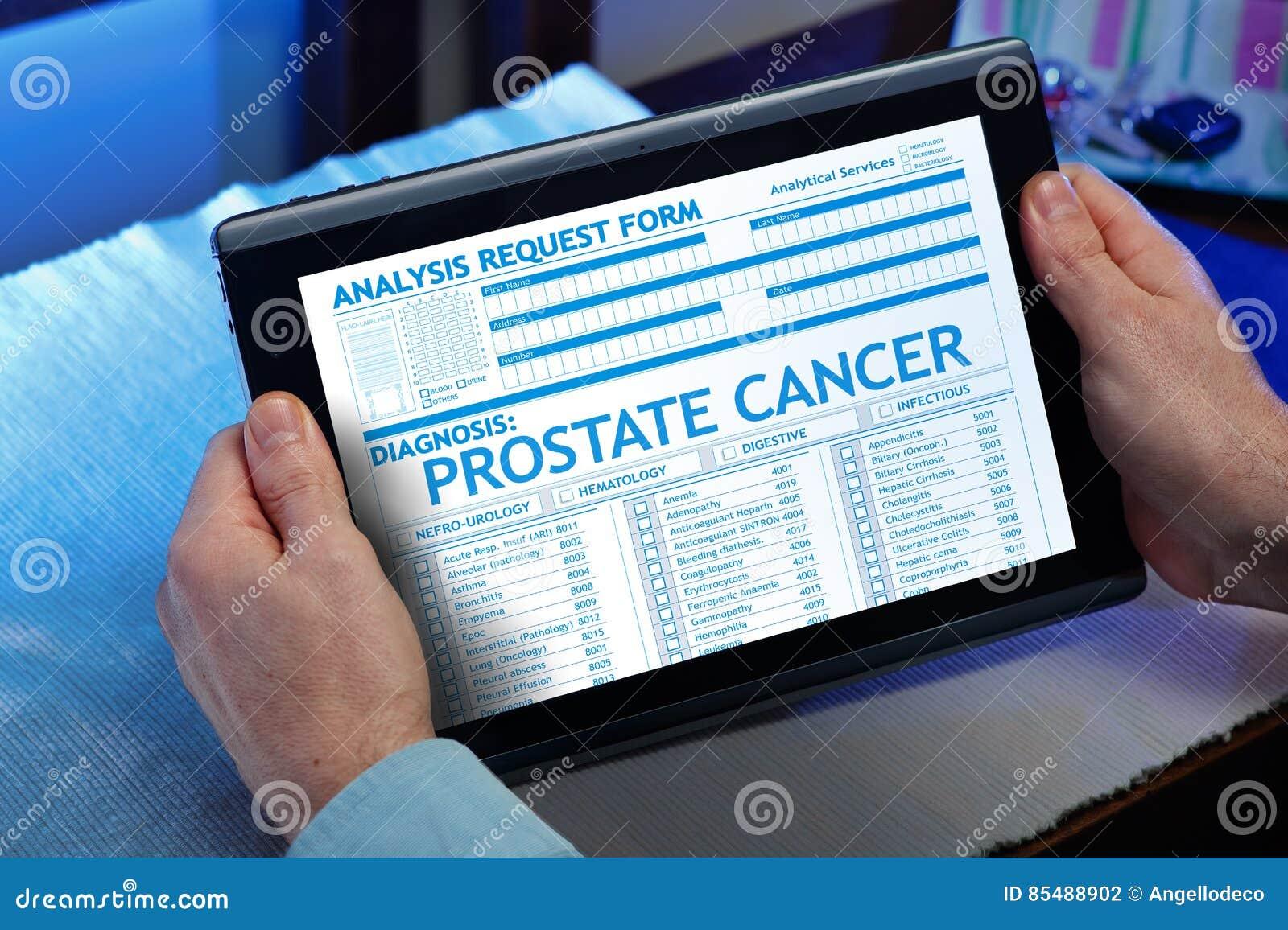 informe de próstata