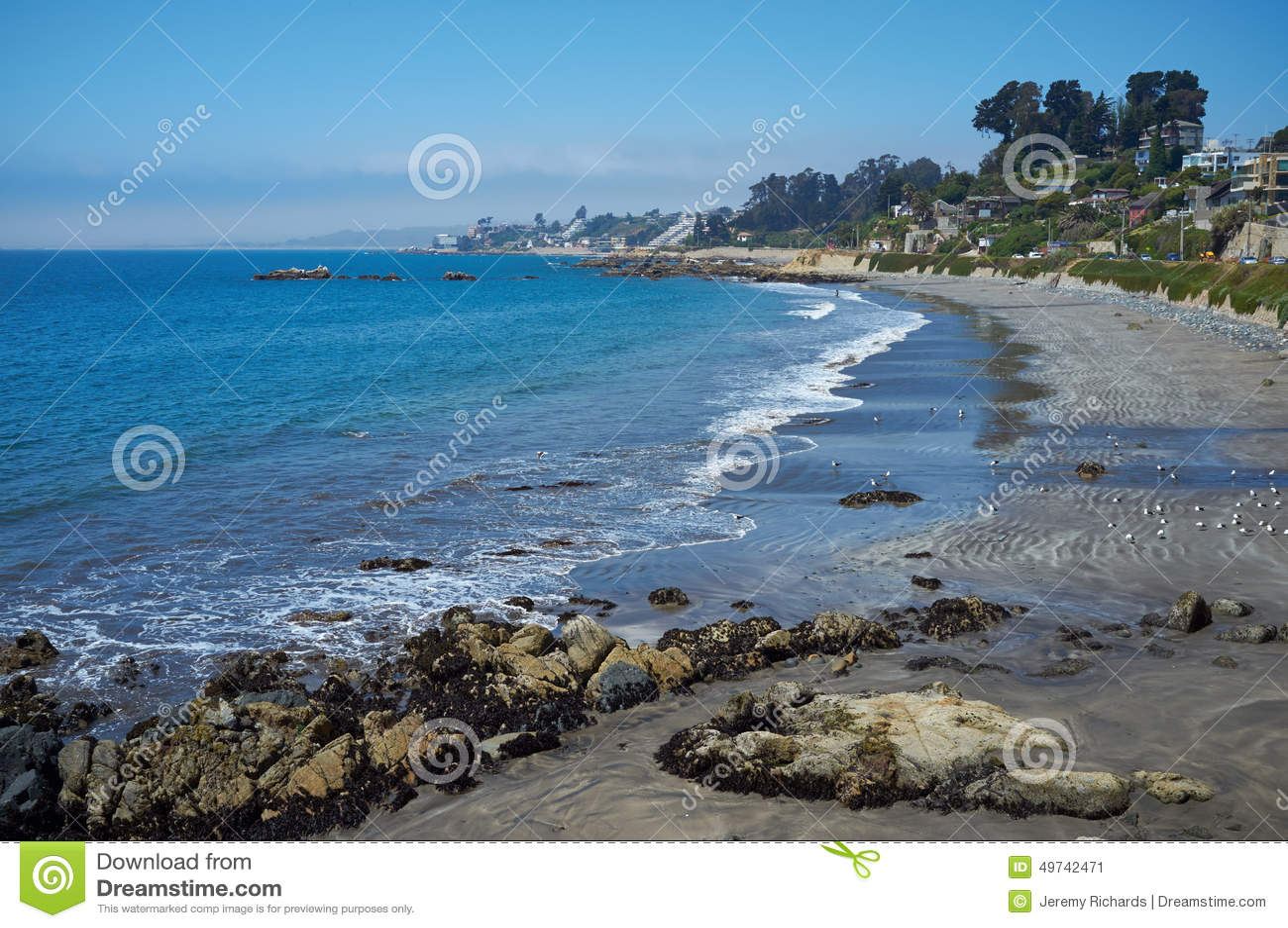 Pacific Coast of Chile