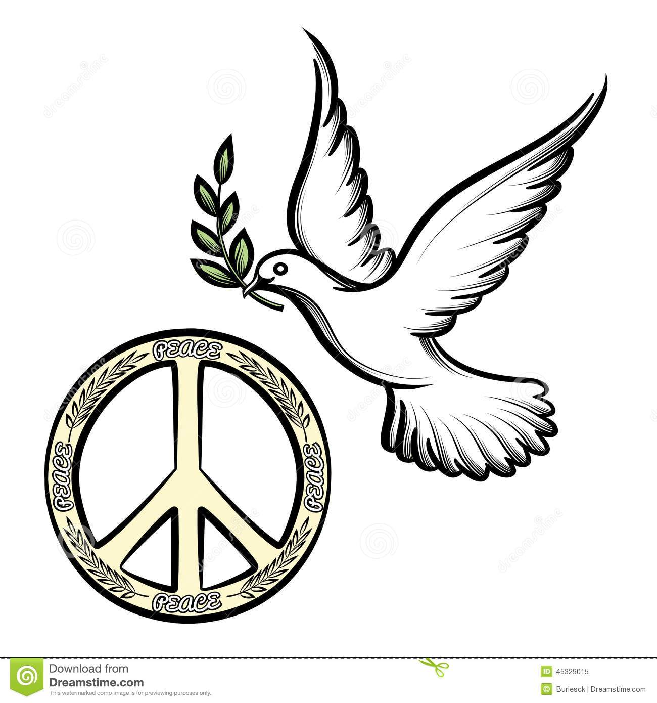 Pacific and the dove of peace stock vector illustration of love pacific and the dove of peace biocorpaavc Image collections