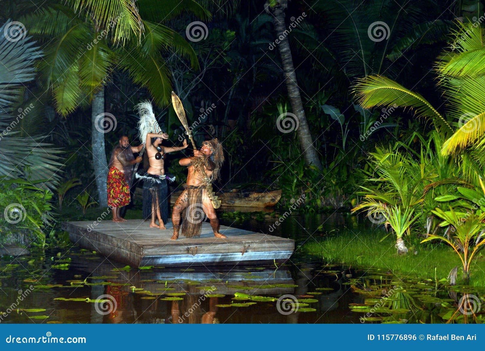 Pacific islander people