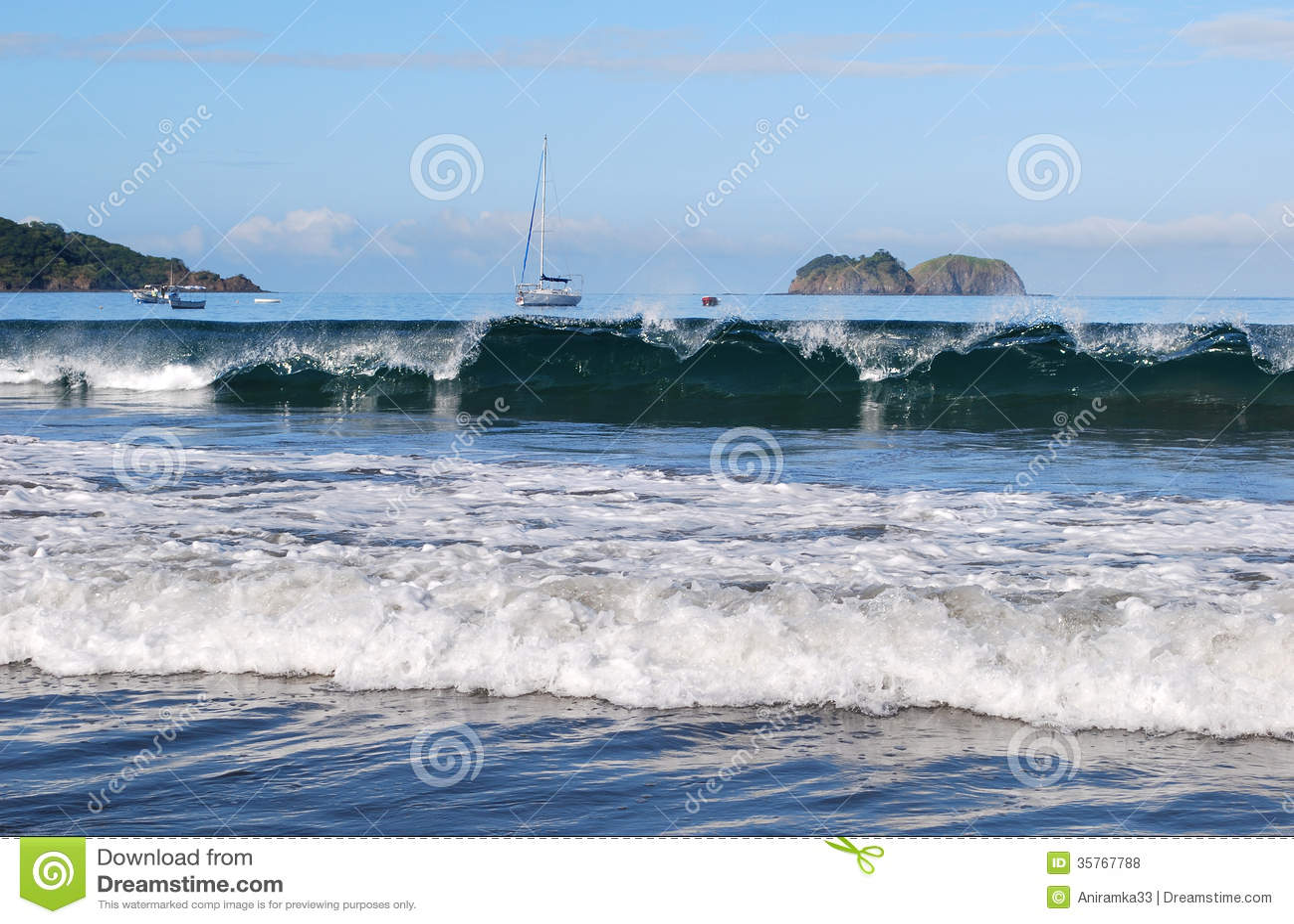 Pacific Ocean Waves Royalty Free Stock Photos - Image ... Pacific Ocean Waves