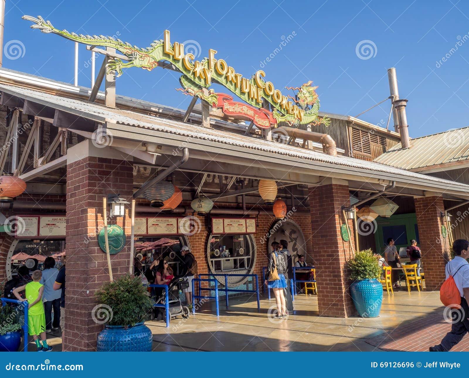 Pacific Wharf Restaurant, Disney California Adventure Park Editorial Photo - Image of kids