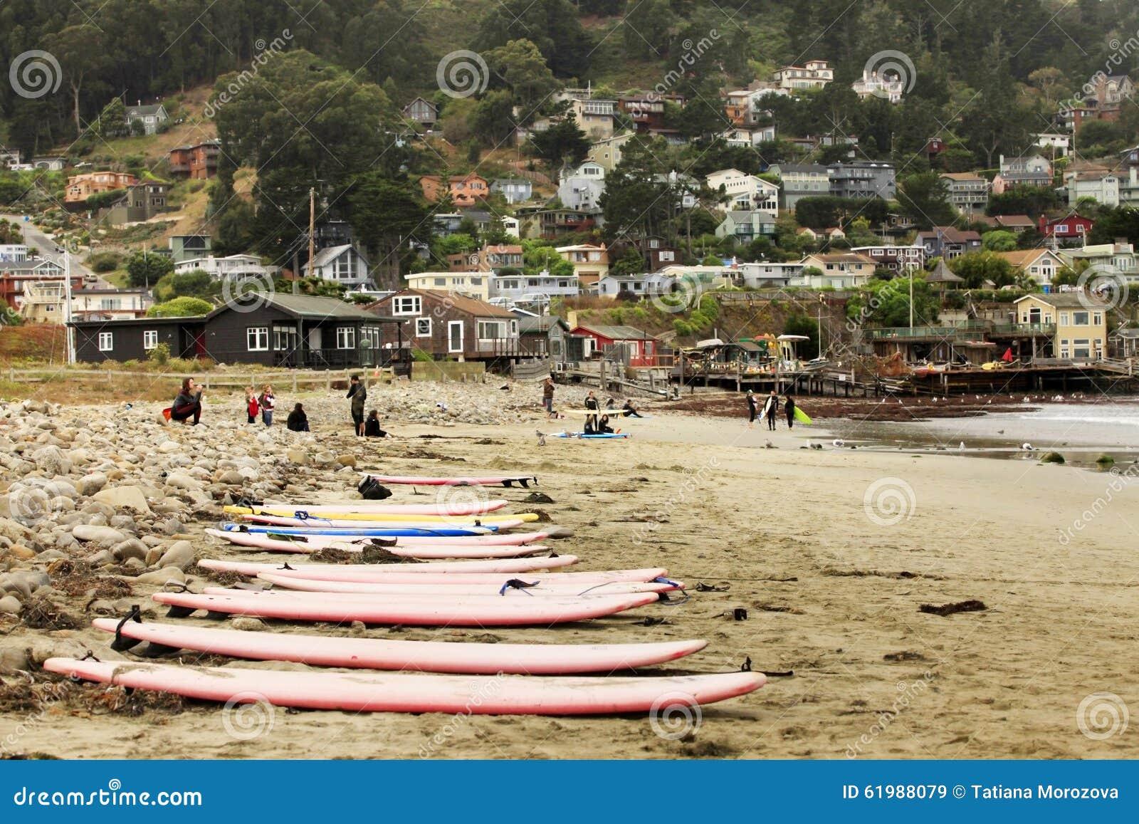 Pacifica State Beach i San Francisco