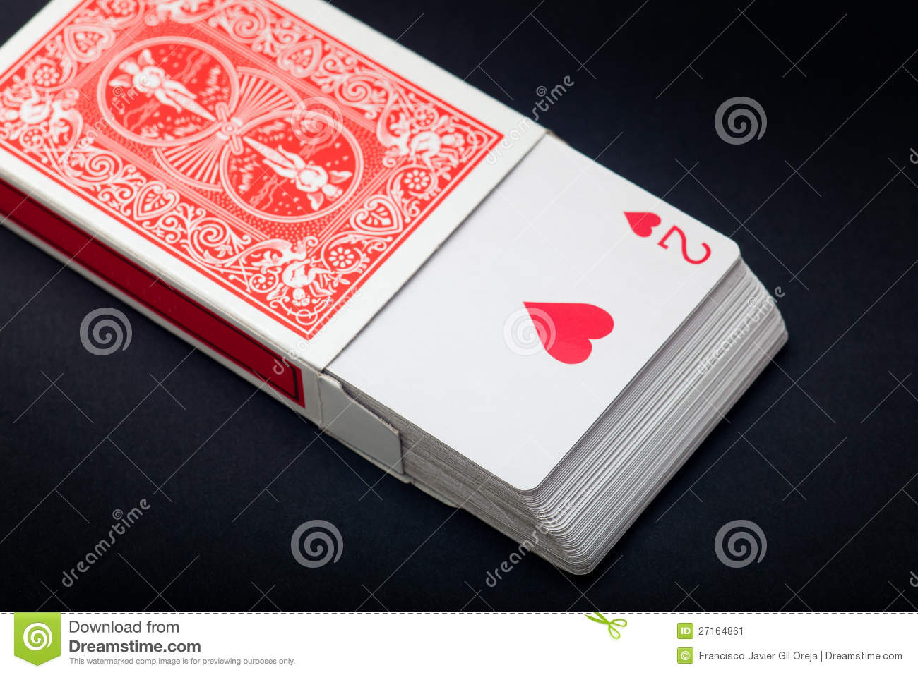 how to open a pack of cards